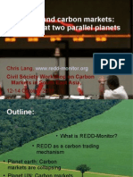 REDD and Carbon Markets