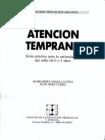 2 Atención Temprana (Guía Práctica Para Al Estimulaicón de Niños de 0 a 3 Años)