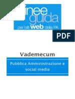Pubblica Amministrazione e Social Media