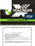 Puch Magnum X Owners Manual