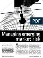 Managing Emerging Market Risk