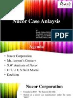 nucor corporation case analysis