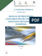 Manual Proceduri Contabile,proiecte