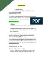 Direito Penal IV - Anotações