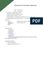 Modelare matematica