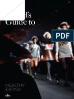 A Models Guide to Healthy Eating