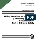 Rp_126 Practicas de Alambrado Seguridad Intrinseca