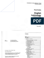 Pavol Kvetko English Lexicology in Theory and Practice