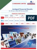 Econet Wireless Zimbabwe FY 28 Feb 14 Abridged Results