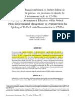 Desenvolvimento e Meio Ambiente - Texto Apresentação