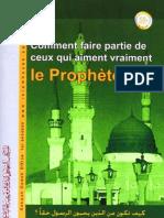 L'amour du prophète (sur lui la paix)