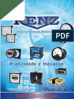 Catálogo Geral de produtos Renz Instrumentos Elétricos Amperímetros e Voltímetros 2014