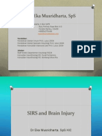 SIRS and Brain Injury - Dr Eka Musridharta