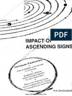 Asthin Choudhri Impact of Ascending Signs