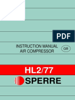 Instruction Manual Air Compressor