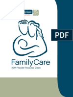 FamilyCare Final 2014 Provider Resource Guide