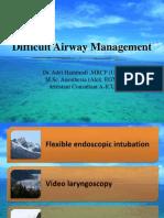 Difficult Airway Management Adel Hammodi
