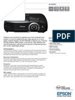 Epson EH-TW5200 3LCD Full HD Gaming / Home Theatre Projector