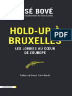 Hold-up a Bruxelles (Cahiers Libres) (Fren - BOVE, Jose