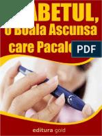 CARTE - Diabetul, o Boala Ascunsa Care Pacaleste