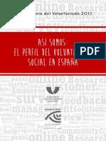 ASI_SOMOS El Perfil de Voluntariado en España