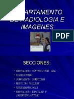 DEPARTAMENTO DE RADIOLOGIA E IMAGENES charla MI Marzo2006