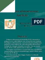 Polipoza adenomatoasa familiala