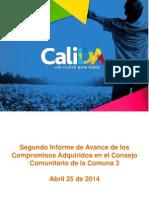 Segundo Seguimiento Consejos Comunitario C3