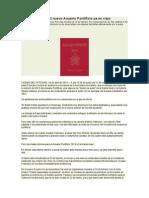 29-04-2014 Diario Vaticano - El Nuevo Anuario Pontificio Ya Es Viejo - SANDRO MAGISTER