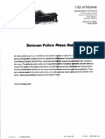 Delavan Press Relase Stabbing