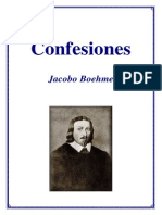 Jacobo Boehme Confesiones