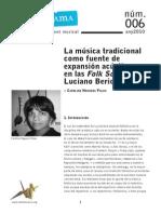 Sonograma06 Carolina Noguera FolkSongs LucianoBerio