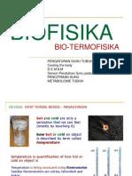 BIOFISIKA ~ Bio Termofisika