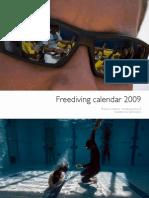 Freediving Calendar 2009 Fra