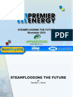 Steam flooding