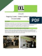 IXL | Fall 2012
