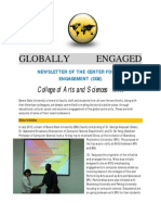 Globally Engaged | Fall 2012