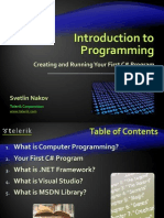 01. Introduction to Programming