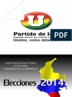 Capacitacion Camara- Senado Partido u