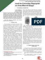 A Novel Approach for Extracting Fingerprint