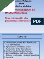 Confe 2 Precursores de Macromoleculas
