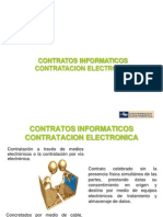 Contratos Informaticos Contratacion Electronica