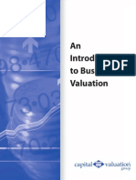 An Introduction to Business Valuation
