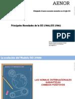 Principales Novedades de La ISO27001ISO 27002 - Paloma Garcia