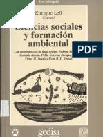Ciencias SocialesFormacion Ambiental