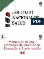 Presentación ejemplo estrategia IEC.