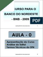 Banco Do Nordeste Bnb Concurso 2010 Apostila Conhecimentos Bancários Www.iaulas.com.Br