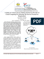 CLOUD COMPUTING RESEARCH PAPER