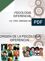 Antecendes de La Psicologia Diferencial