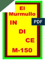 Indice El Murmullo-138 (20-10-21)